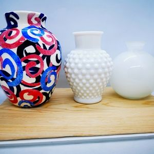 Mini Vase Collection Trio spring summer floral feminine cute and graceful